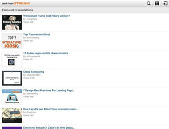 m.authorstream.com screenshot