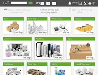 kitepackaging.co.uk screenshot