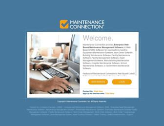 maintenanceconnection.com screenshot