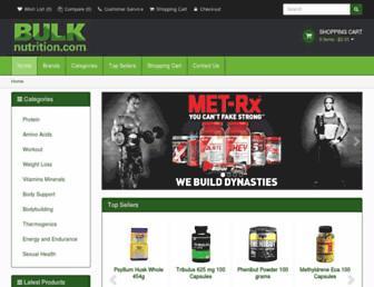 Thumbshot of Bulknutrition.com
