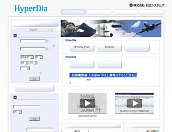 Thumbshot of Hyperdia.com