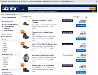 mensshoes.bizrate.co.uk screenshot