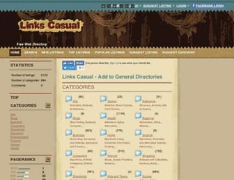 Thumbshot of Linkscasual.com