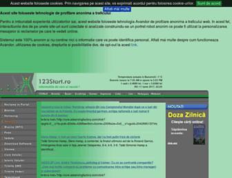 123start.ro screenshot