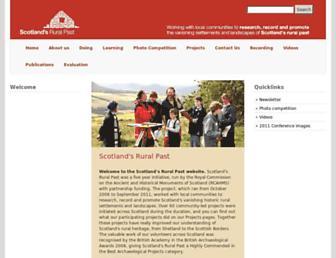 scotlandsruralpast.org.uk screenshot