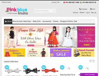 Thumbshot of Pinkblueindia.com