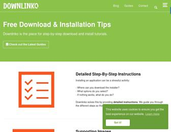 downlinko.com screenshot