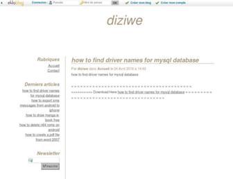 pilarypyc.eklablog.fr screenshot