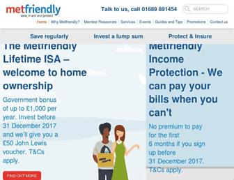 metfriendly.org.uk screenshot