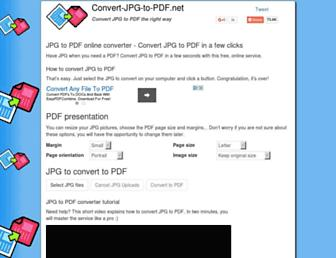 Thumbshot of Convert-jpg-to-pdf.net