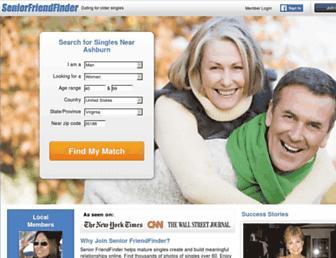 Thumbshot of Seniorfriendfinder.com