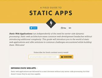 Thumbshot of Staticapps.org