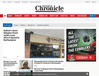 Thumbshot of Northamptonchron.co.uk