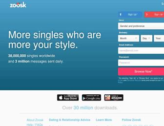 Thumbshot of Zoosk.com