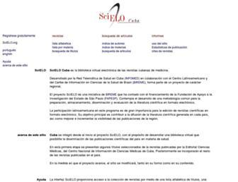 scielo.sld.cu screenshot