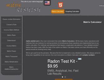 matrix.reshish.com screenshot