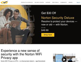 us.norton.com screenshot