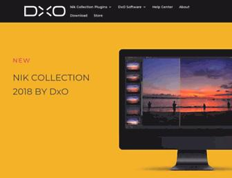 nikcollection.dxo.com screenshot