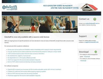 eduswift.com screenshot
