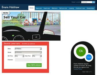 evanshalshaw.com screenshot