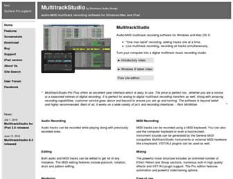 multitrackstudio.com screenshot