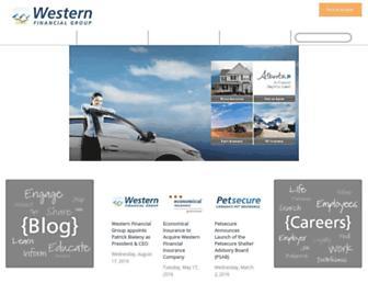 westernfinancialgroup.ca screenshot