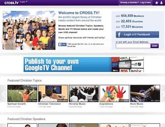 Thumbshot of Cross.tv