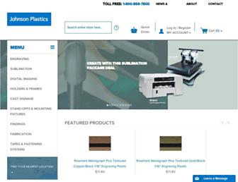 johnsonplastics.com screenshot