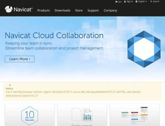 navicat.com screenshot
