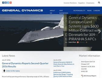 Thumbshot of Generaldynamics.com