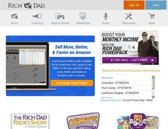 richdad.com screenshot