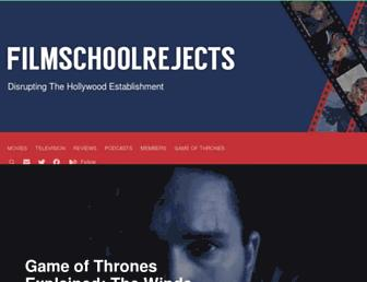 filmschoolrejects.com screenshot