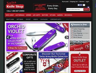 Thumbshot of Swissknifeshop.com