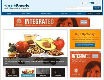 Thumbshot of Healthboards.com