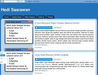 hedisasrawan.blogspot.com screenshot