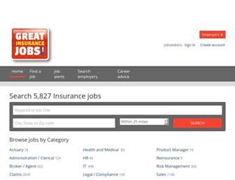 greatinsurancejobs.com screenshot