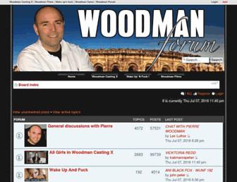Thumbshot of Woodmanforum.com