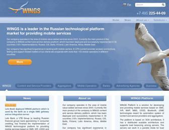 wings-solutions.com screenshot
