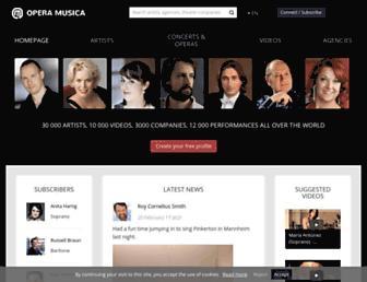 operamusica.com screenshot