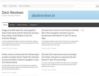 Thumbshot of Desireviews.tv