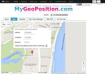 Thumbshot of Mygeoposition.com