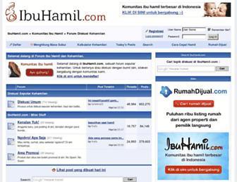 ibuhamil.com screenshot