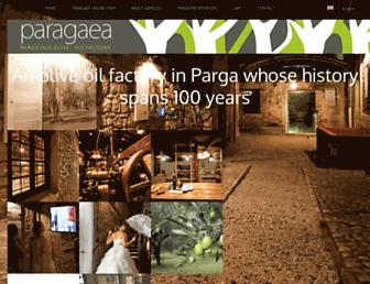 paragaea.gr screenshot