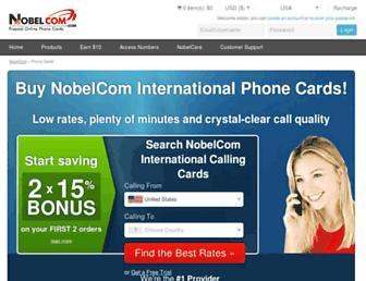 Thumbshot of Nobelcom.co.uk