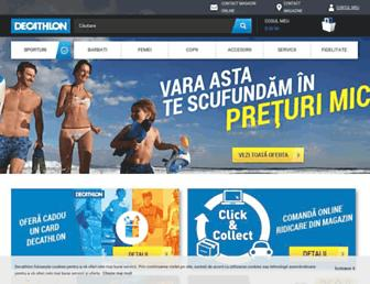 decathlon.ro screenshot