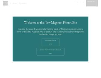 Thumbshot of Magnumphotos.com