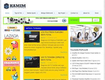hamimservis.com screenshot