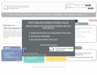 lifeinscouncil.org screenshot