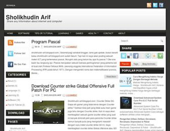 sholikhudin-arif.blogspot.com screenshot