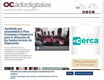 ocadizdigital.es screenshot